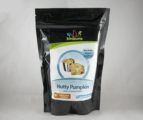 Birdzone - Nutty Pumpkin Muffin