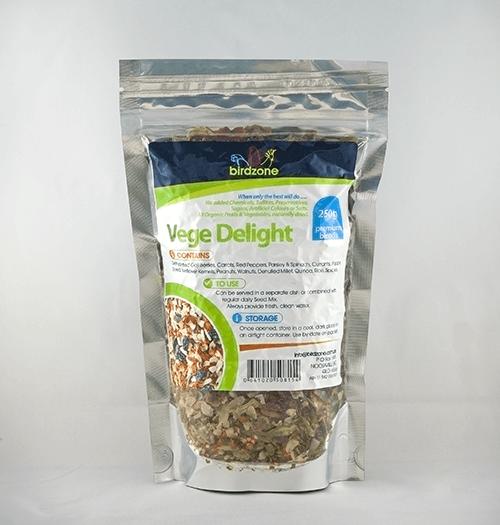 Birdzone - Vege Delight Premium Blend